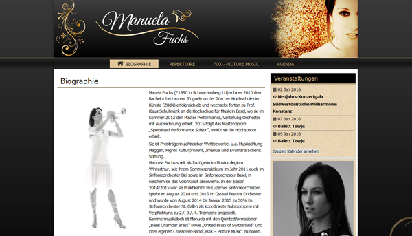 Musikerin Manuela Fuchs CH